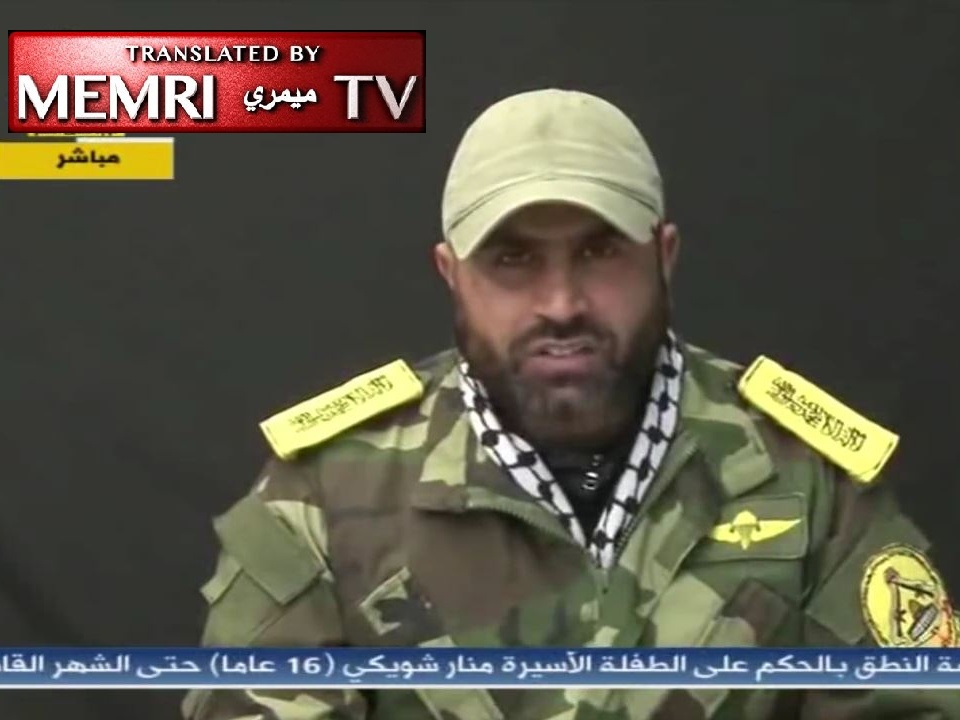 Fatah Militant Leader in Gaza: Fatah Has Lost Its Path, Palestine Will Not Be Liberated by Futile Negotiations; Only the Gun Can Reunite Fatah