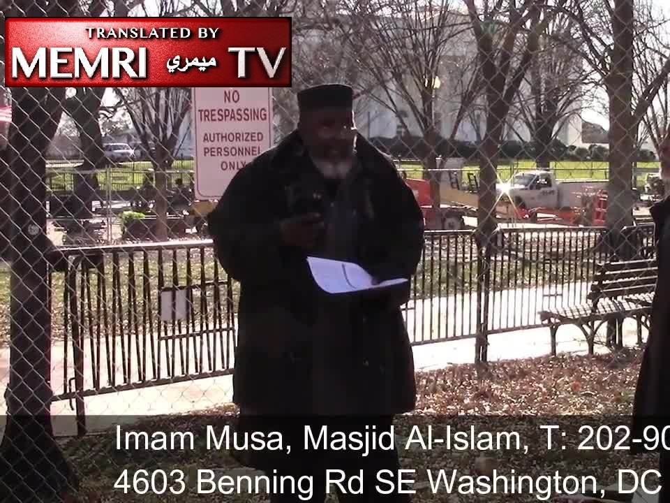"Washington D.C. Imam Abdul Alim Musa Likens Trump to Hitler, States: ""America Has Never Been Great"""