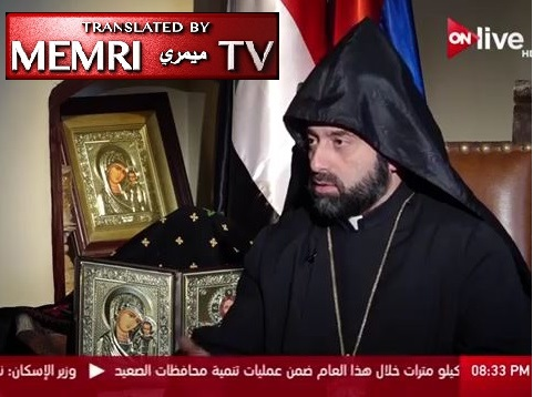 Armenian Bishop Armash Nalbandian: Countries Supporting the Turkish Criminals in Syria Bear Responsibility for Genocide