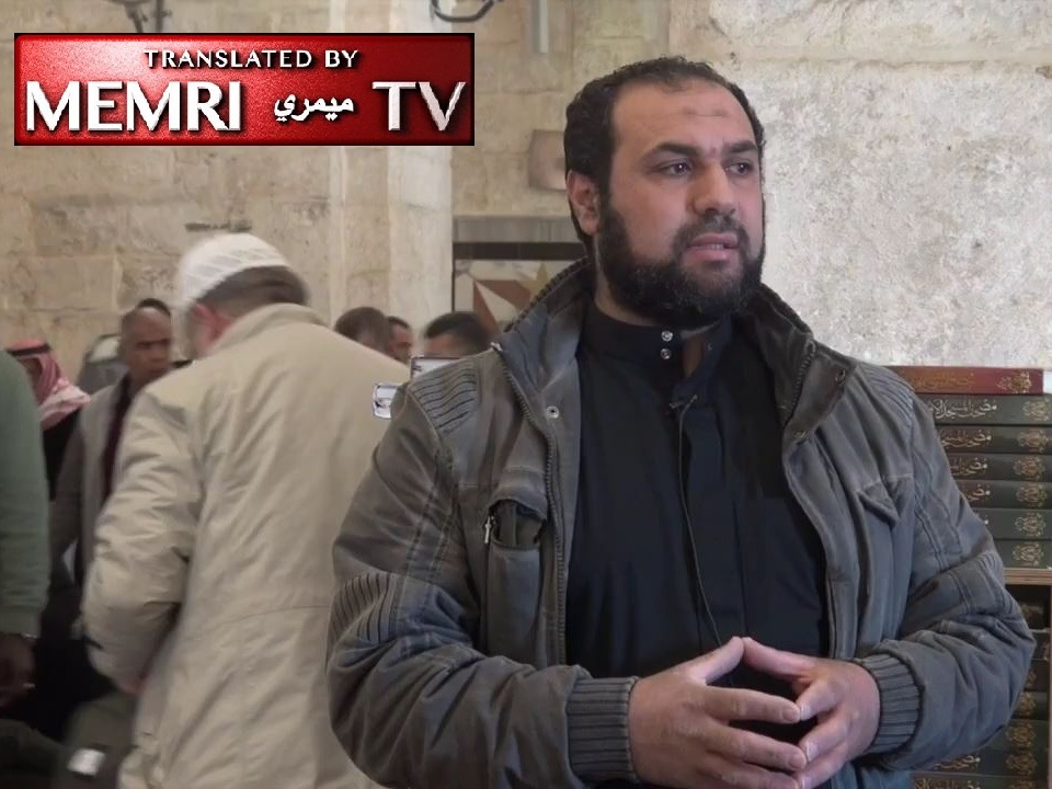 Palestinian Sheikh Abu Mus'ab Al-Hadra in Al-Aqsa Mosque Address: People Like Marine Le Pen Would Pay the Jizya Tax or Live as Dhimmis under Muslim Rule