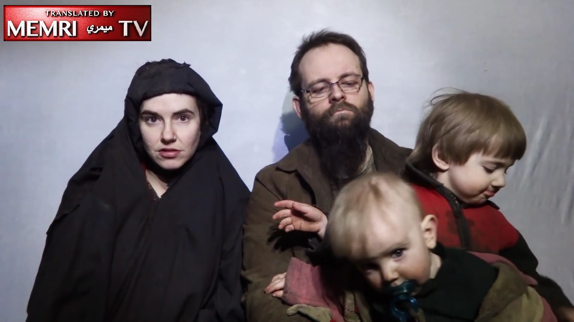 Taliban Video of American Hostage Caitlin Coleman, Her Canadian Husband and Their Two Children: We Find Ourselves in a