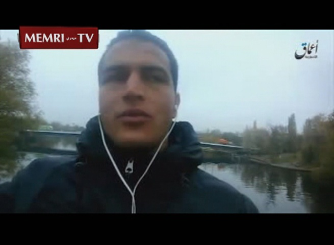 "ISIS Video: Berlin Attacker Anis Amri Urges ""Brothers"" In Europe To Attack ""pig Crusaders"""