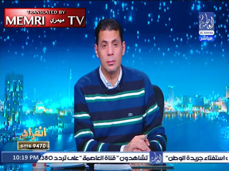 Egyptian MP and TV Host Sa'id Hassassin: Perpetrator of Jerusalem Truck Attack Is a Hero