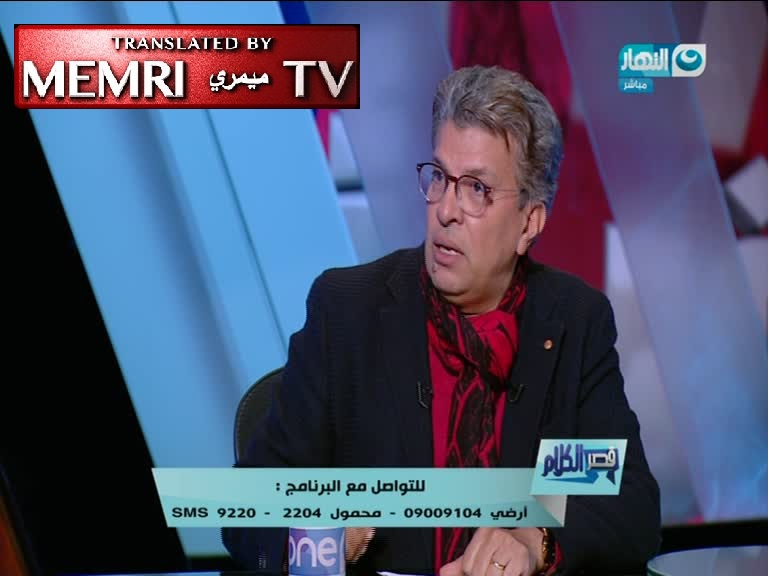 Egyptian Intellectual Dr. Khaled Montaser: Islamic Extremism Does Not Stem from Poverty or Ignorance; Our Interpretation of Our Religion Is in Conflict with Modernity