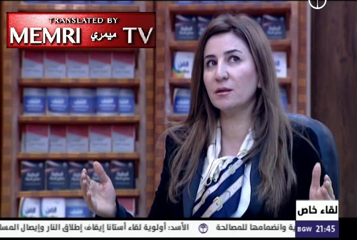 Yazidi Iraqi MP Vian Dakhil: We Have Bought Back 2,750 Yazidi Women and Children from ISIS; the Iraqi Government Has Not Done Enough