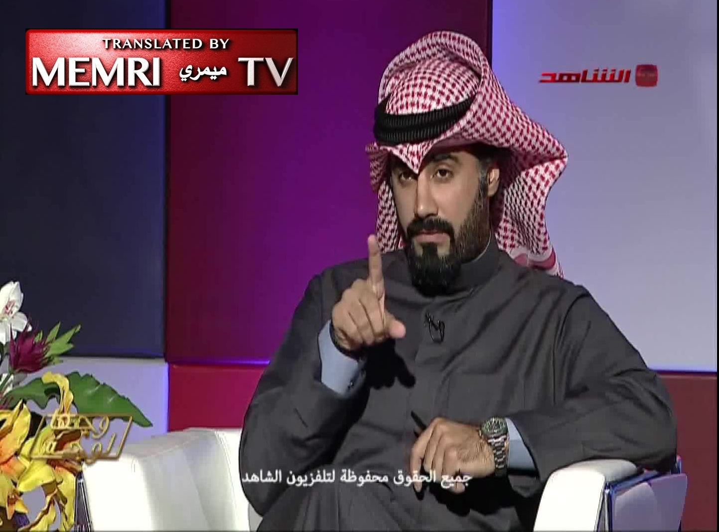 Kuwaiti Liberal Activist Nasser Dashti Clashes with Islamist Journalist Saeed Tawfiki over Freedom of Belief