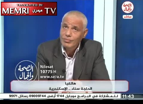 "Egyptian Intellectual Sharif Farouk Walks out of Studio during Debate on Atheism and Islam, TV Host Apologizes for ""Pointless"" Show"
