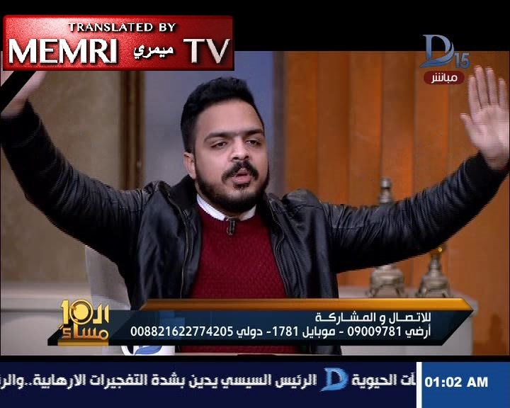 Coptic Activist Michael Armanyos to Al-Sisi following Cairo Church Bombing: If You Cannot Protect Us, You Should Resign