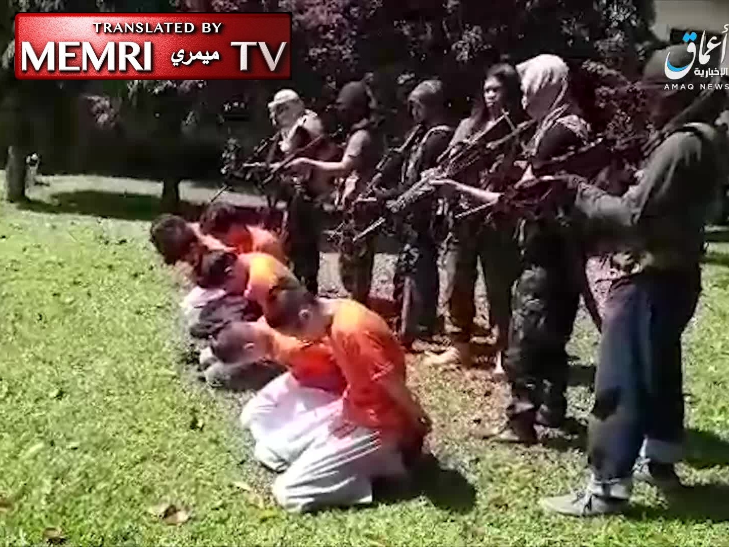 ISIS Video Documents Execution Of Christians In ‎Philippines (Warning: Graphic Footage)