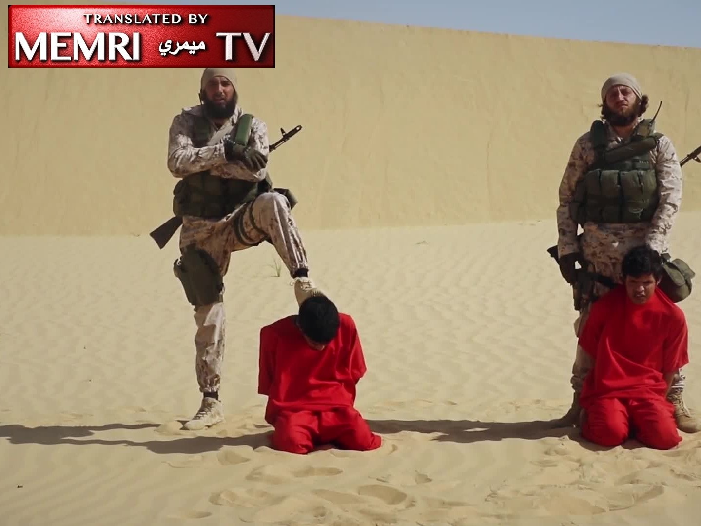ISIS Sinai Video Shows