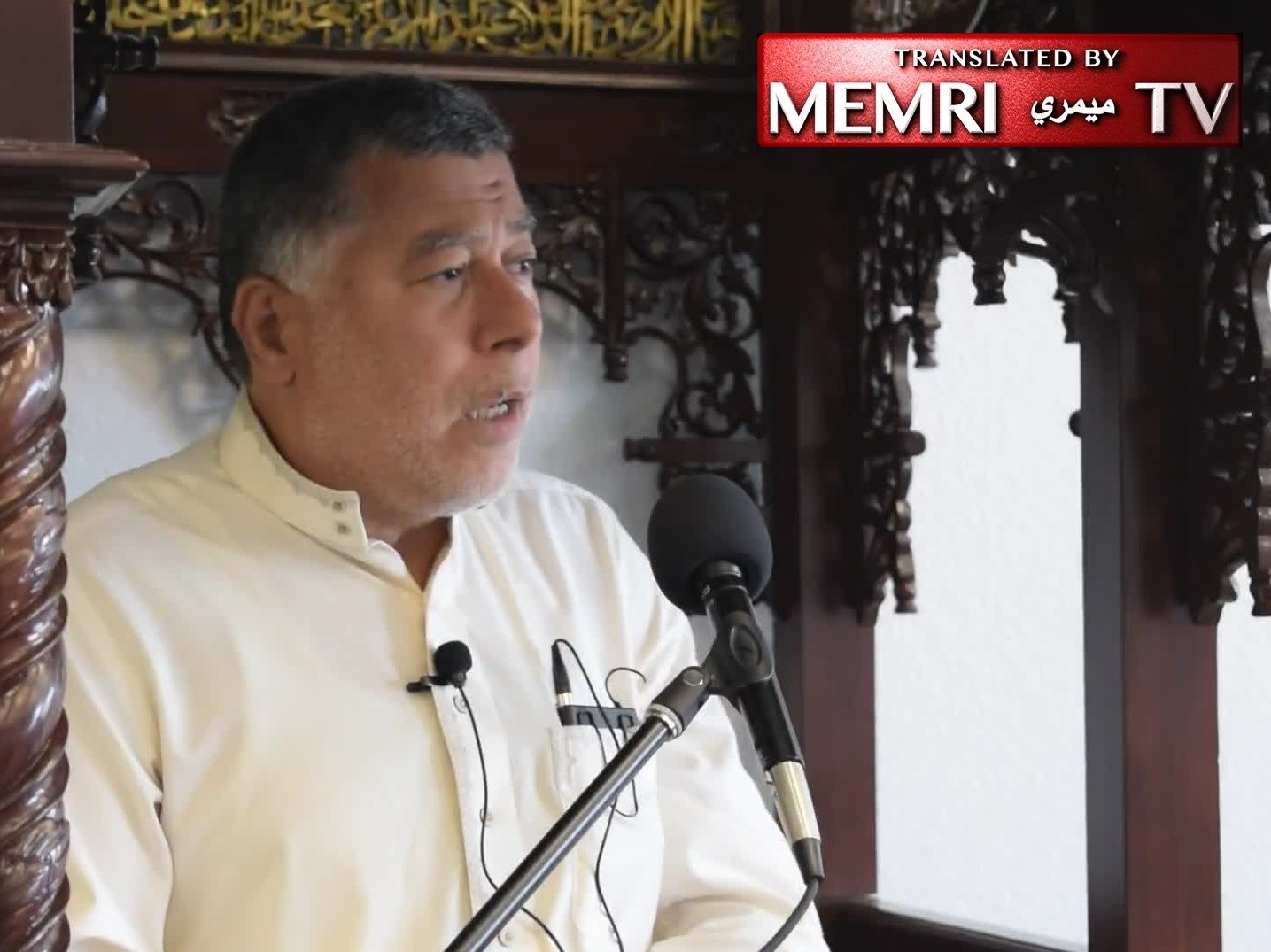 Florida Friday Sermon - Imam Hasan Sabri: The Only Way to Liberate Palestine, Jerusalem, and the Al-Aqsa Mosque Is the Way of Saladin and Omar Ibn Al-Khattab