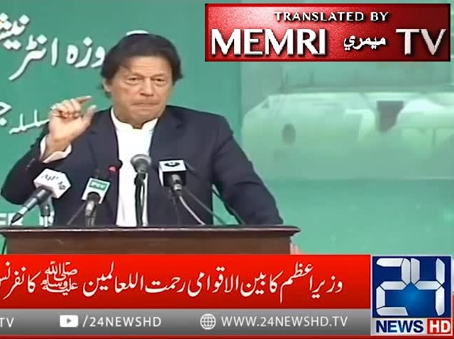 Pakistani PM Imran Khan Says
