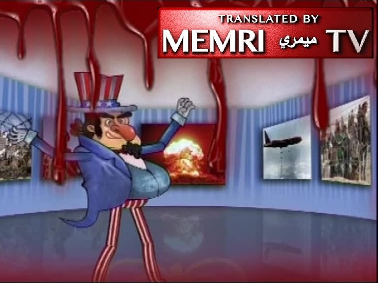Iranian Anti-American Animation aired on Anniversary of 1979 Takeover of U.S. Embassy in Tehran: America - the Blood of Our Youth Is Dripping from America's Claws; You Are Satan Incarnate