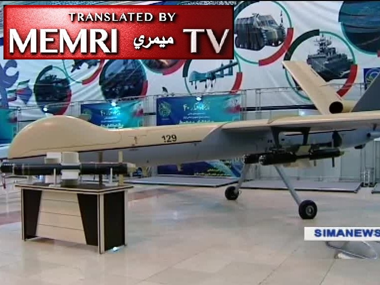 Iranian TV Report on Military Exhibition Showing Drones, Missiles: This Is