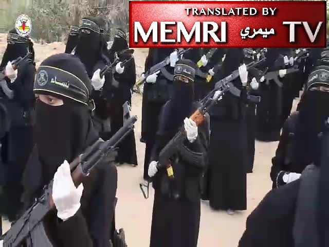 Islamic Jihad Music Video Shows Veiled Women Shooting Guns and Training: We Are Martyrdom-Seekers Defending Al-Aqsa
