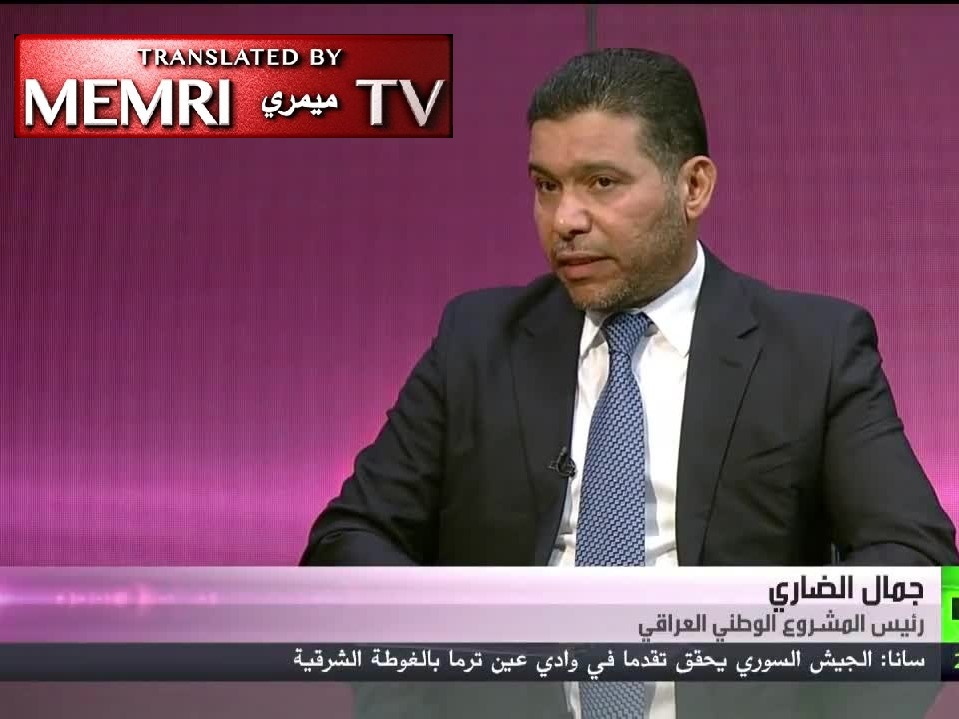 Sunni Iraqi Politician Jamal Al-Dhari: U.S. Troops Should Remain in Iraq So That America Can Be Held Responsible for Its Crimes