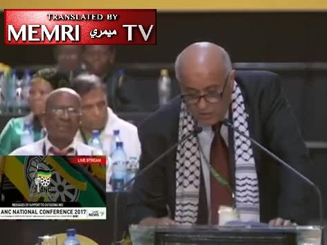 Fatah Official Jibril Rajoub Slams President Trump at ANC Conference in South Africa, Calls for BDS Measures against Israel