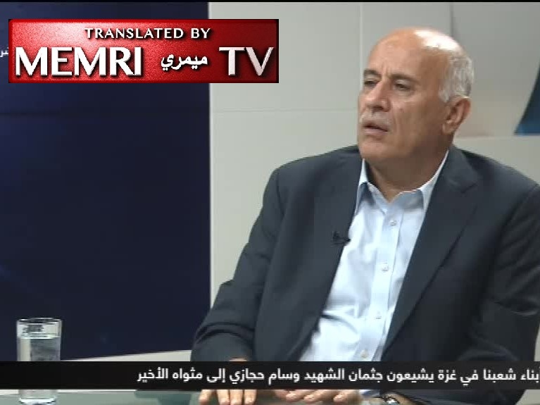 Fatah Central Committee Member Jibril Rajoub to Netanyahu, Lieberman, Bennett: You Are Criminals and Neo-Nazis!