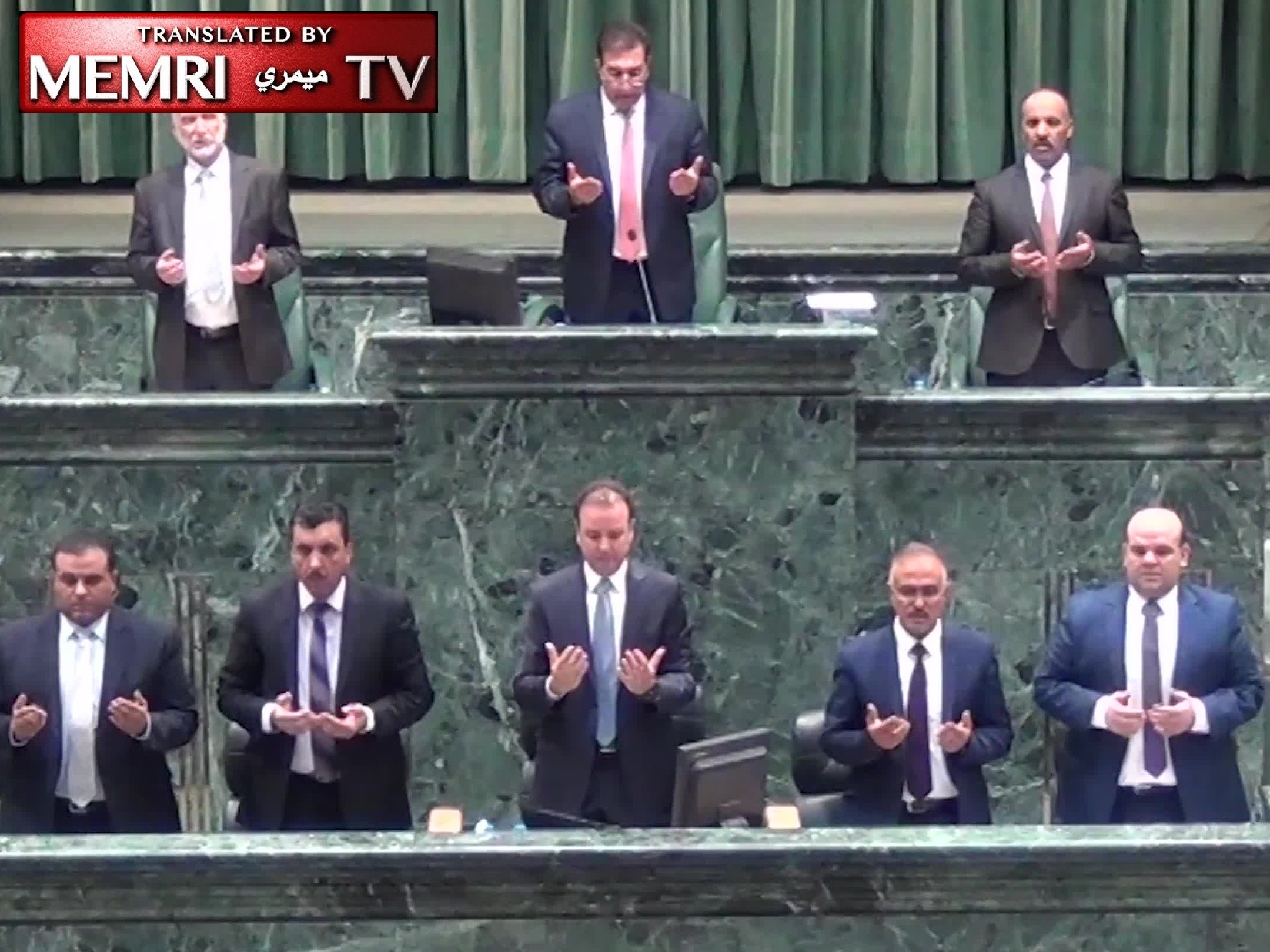 Jordanian Parliament Salutes Perpetrators of Jerusalem Terror Attack, Prays for Their Souls