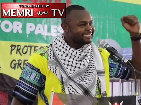 Kenyan Social Democratic Party Official on Al-Quds Day: If Possible, We Will Join the Palestinians in the Battlefield