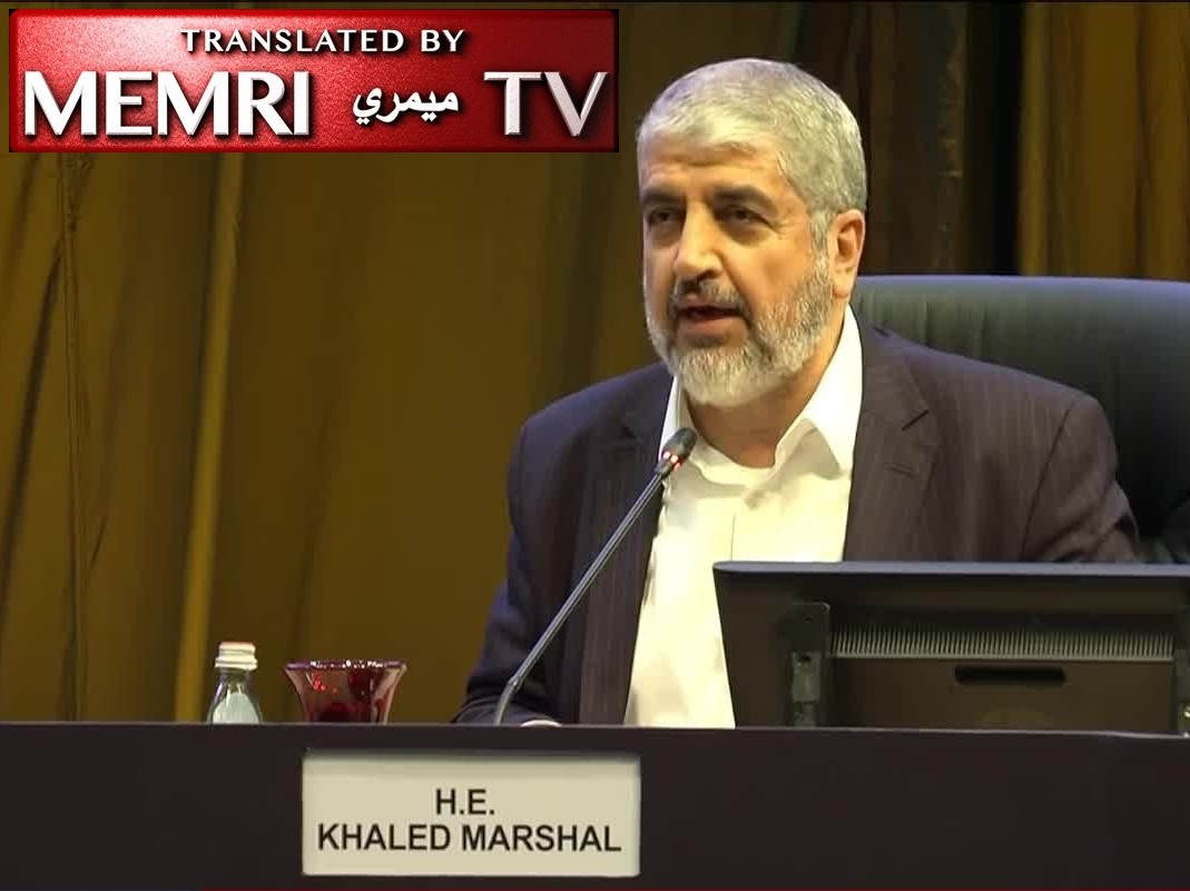Fmr. Hamas Chief Khaled Mashal on the Role of Women in Palestinian Society: They Are Martyrdom-Seekers, They Help Martyrdom-Seekers, and they Replace Martyred, Imprisoned, Or Exiled Men