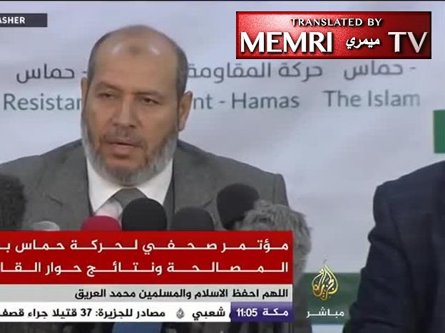 Khalil Al-Hayyah, Hamas: Our Weapons Are Not Up for Discussion; We Will Move Them to the West Bank to Fight the Occupation
