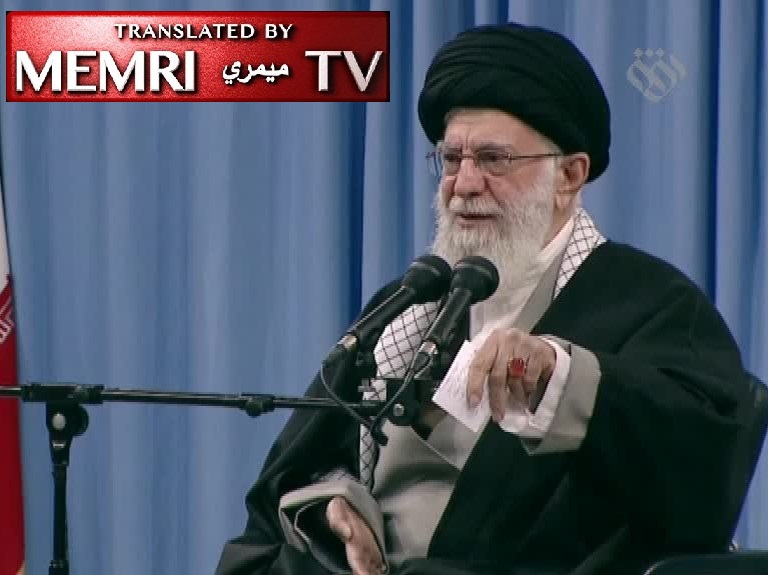 Iranian Supreme Leader Ayatollah Ali Khamenei: Iran's Duty is to Support Palestinian Armed Resistance Groups; The Deal of the Century Is Stupid