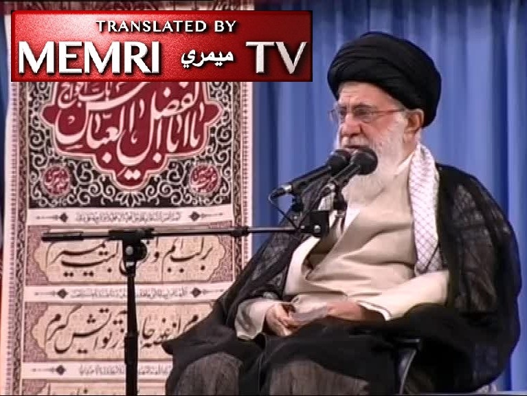 "Iranian Supreme Leader Ayatollah Ali Khamenei Says America Has Been Conspiring against Iran for 40 Years, Responds to ""Death to America"" Chants: May This Come True Soon"