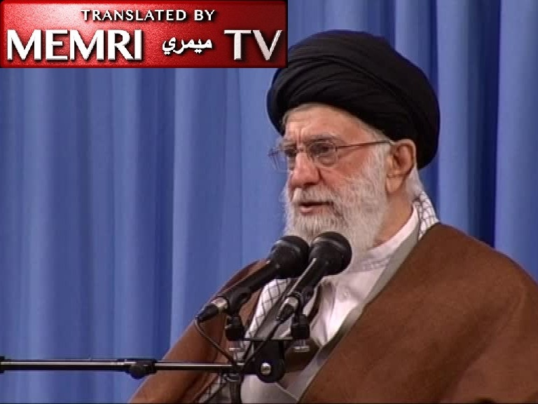 Iranian Supreme Leader Ayatollah Ali Khamenei: Erasing Israel Does Not Mean Erasing the Jews; the People of Palestine Must Drive Out Netanyahu and Other Riffraff Foreigners