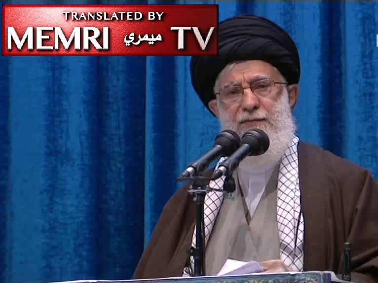 Iranian Supreme Leader Khamenei at Tehran Friday Sermon: The 'Bitter Incident of the Plane Crash' must not Overshadow the IRGC 'Crush' of U.S. Bases and Tens of Millions Attending Soleimani's Funeral