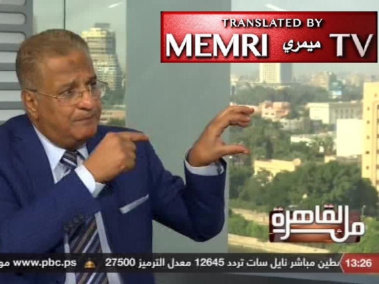 Former Egyptian Official Gen. Mahmoud Al-Rashidi: West behind ISIS, Other Terrorist Organizations; Israel - Largest Center for Electronic Terrorism in the Middle East