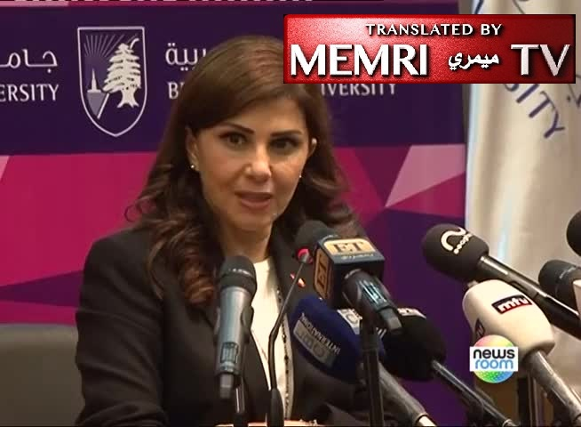 Lebanese Singer and U.N. Goodwill Ambassador Majida El Roumi: Global Zionism Is Implementing