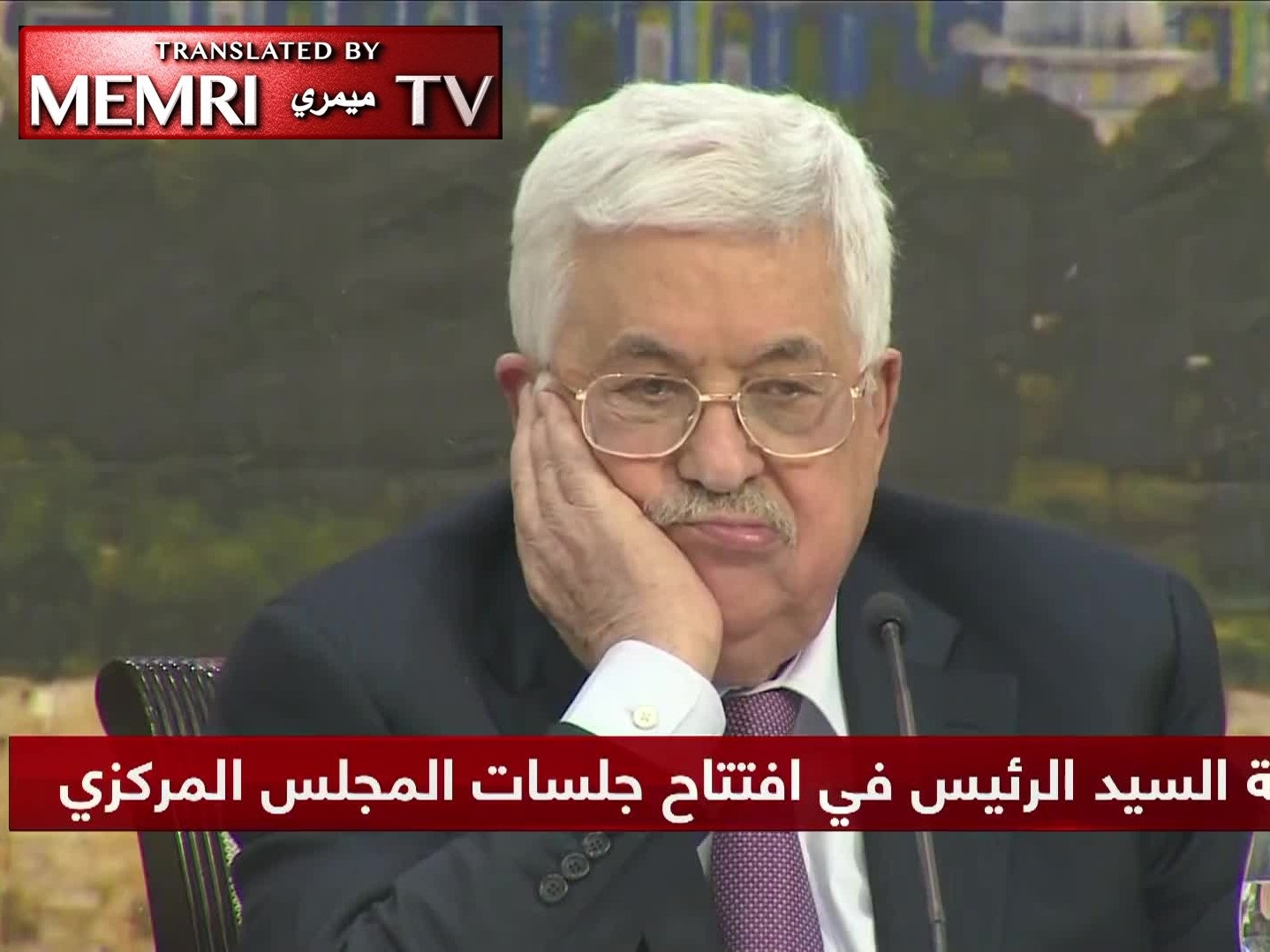 Mahmoud Abbas: The PLO Should Reexamine Its Agreements with Israel; We Will No Longer Accept the U.S. as Mediator