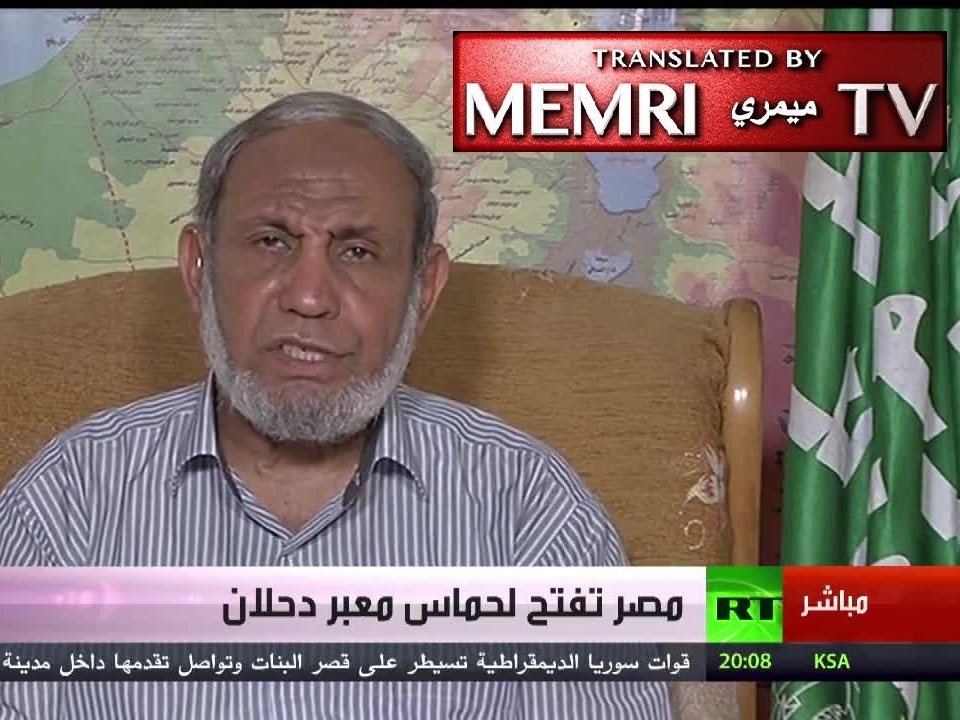 Mahmoud Al-Zahhar: Gulf States Should Remove Zionist Jews from Their Institutions before Demanding that Qatar Expel the MB