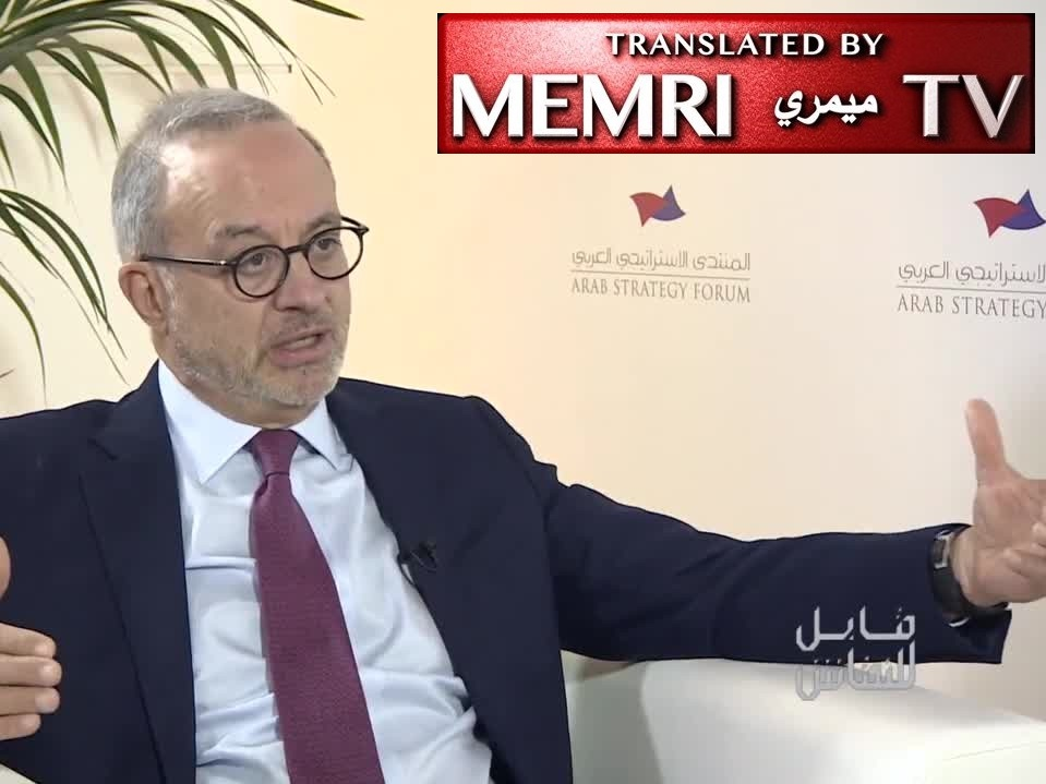 Former Jordanian Foreign Minister Marwan Muasher: Economic Reforms in the Arab World Must Be Accompanied by Political Reforms