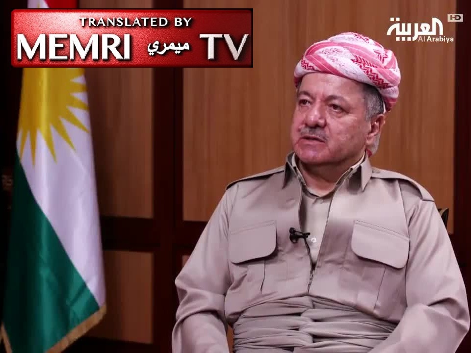 Kurdistan President Masoud Barzani: The Only Alternative to Independence Referendum Is an Agreement with Baghdad