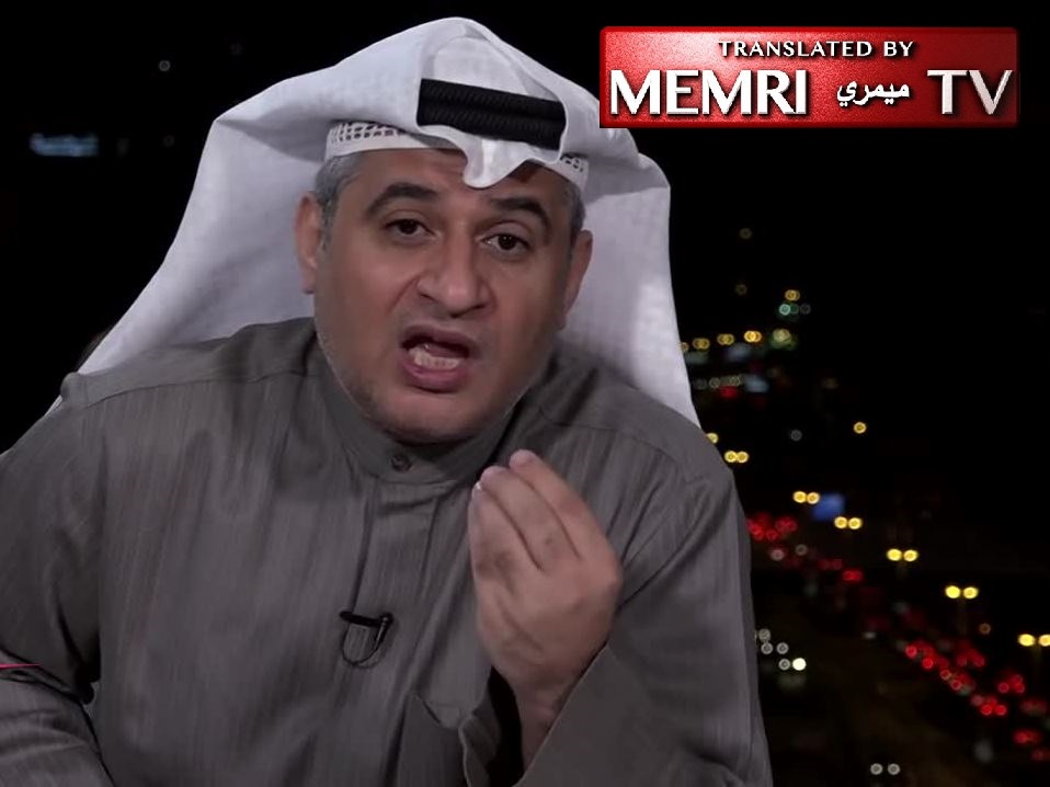 Kuwaiti TV Host Mohammad Al-Mulla on Trump's Jerusalem Decision: There Is No Such Thing as Israel or Tel Aviv; Palestine will be Regained by Means of Weapons Alone