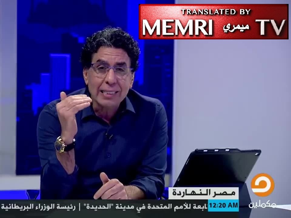 Egyptian MB TV Host Mohammed Nasser: The Jews Used to Be Seen as Despicable Big-Nosed Outcasts, but Through Cinema They Replaced This Image with Arabs