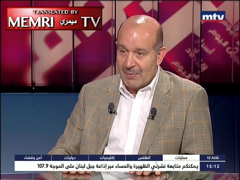 Former Lebanese MP Moustafa Allouch: Hizbullah, ISIS, and Jabhat Al-Nusra Can All Go to Hell