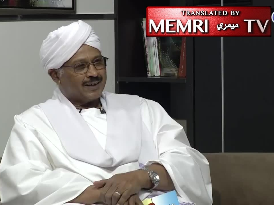 Sudanese Minister Mubarak Al-Mahdi: Normalization with Israel No Big Deal; Arabs Have Peddled Palestinian Cause Ad Nauseam