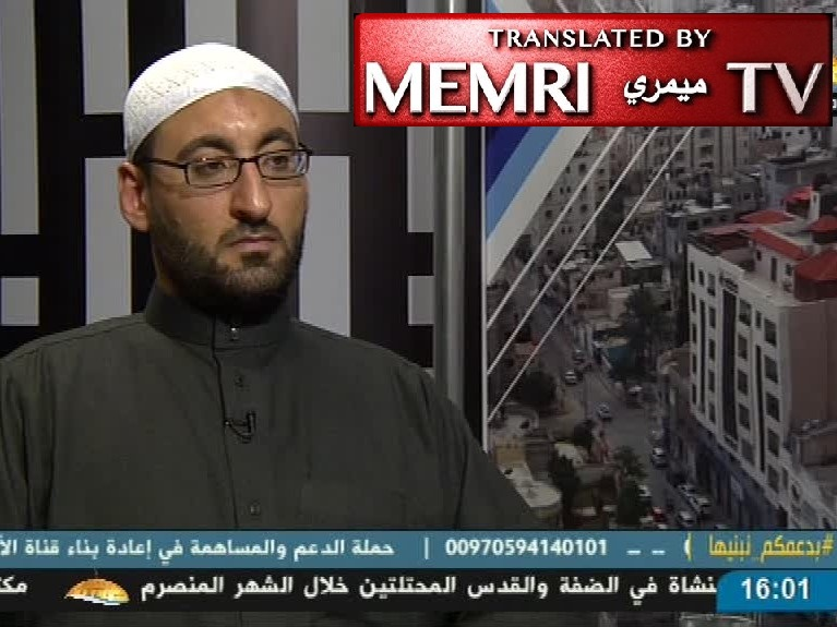 Gazan Scholar Dr. Muhammad Suleiman Al-Farra: It Is Our Religious Duty to Fight the Jews and