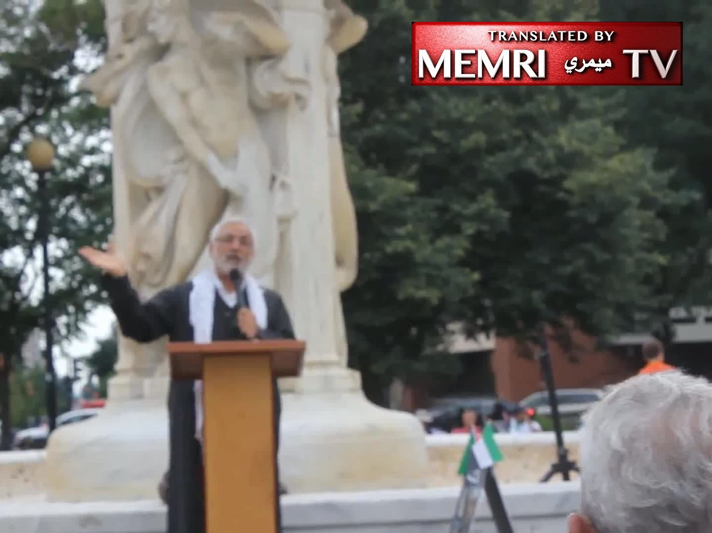 Al-Quds Day Sermon by Imam Muhammad Al Asi in Washington D.C.: The Zionist Colonialist Force Must Be Dislodged, If Necessary with Non-Peaceful Means