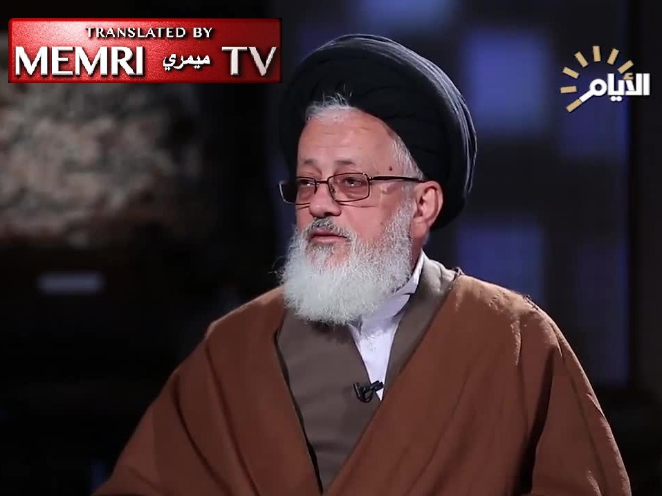 "Iranian Leader Khamenei's Representative in Iraq Mojtaba Hosseini: Israel, That ""Cancerous Tumor,"" Will Be Extracted in a Few Years"