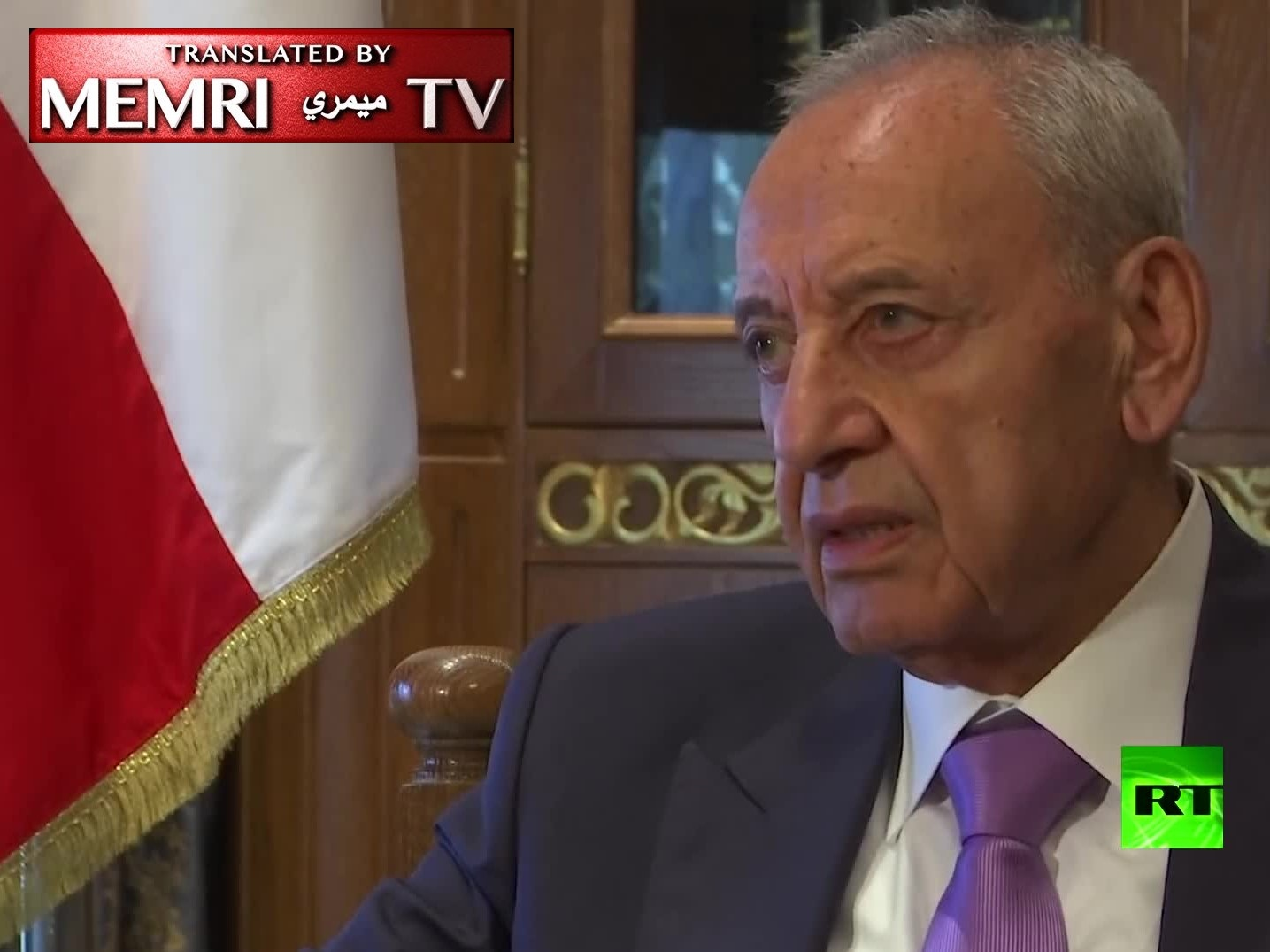 "Lebanese Parliament Speaker Nabih Berri: Syria Has Achieved ""Balance of Terror"" with Israel"