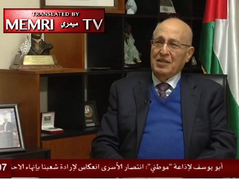 Top Fatah Official Nabil Shaath: No Problem with Engaging Simultaneously in Armed Struggle and Diplomatic Efforts