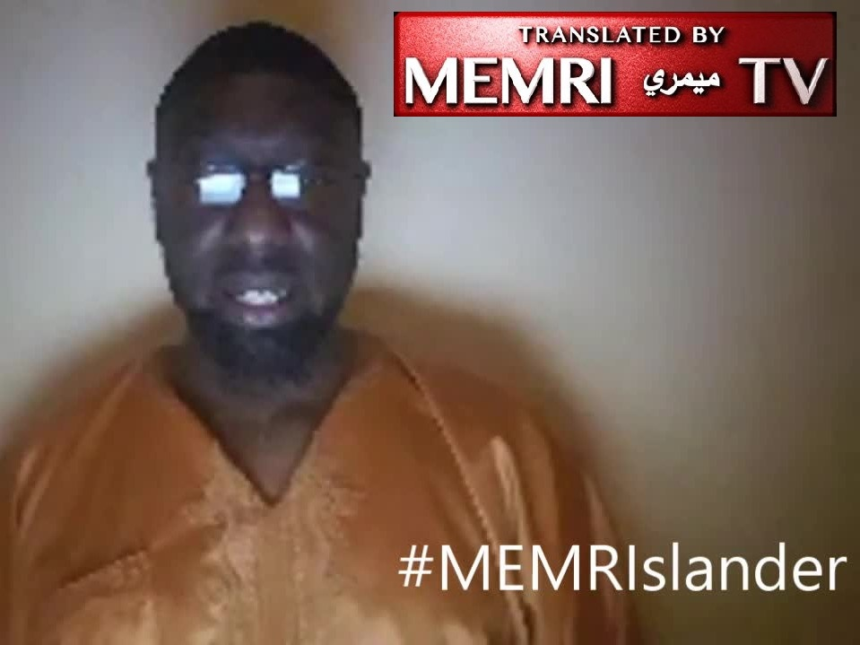 Pittsburgh Imam Naeem Abdullah Responds to Media Backlash Following MEMRI Report: Clips Taken Out of Context to Stitch False Narrative; I'm Not Antisemitic; MEMRI Are a