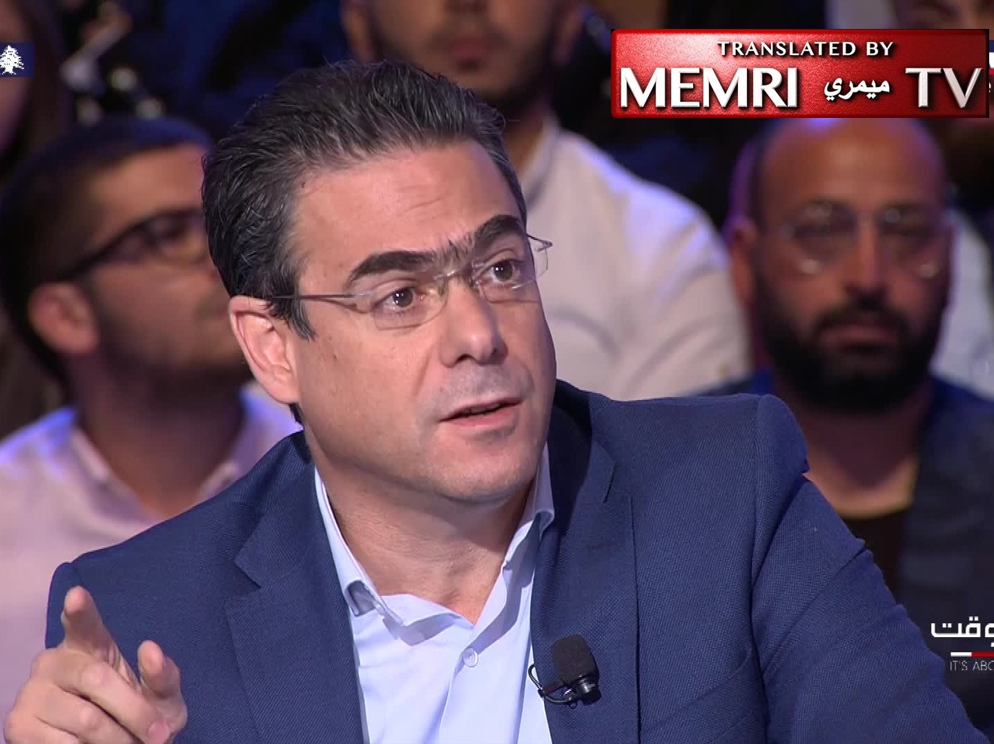 Former Lebanese Minister Nicolas Sehnaoui: People who Accept Money from Abroad Commit High Treason, Should be Executed