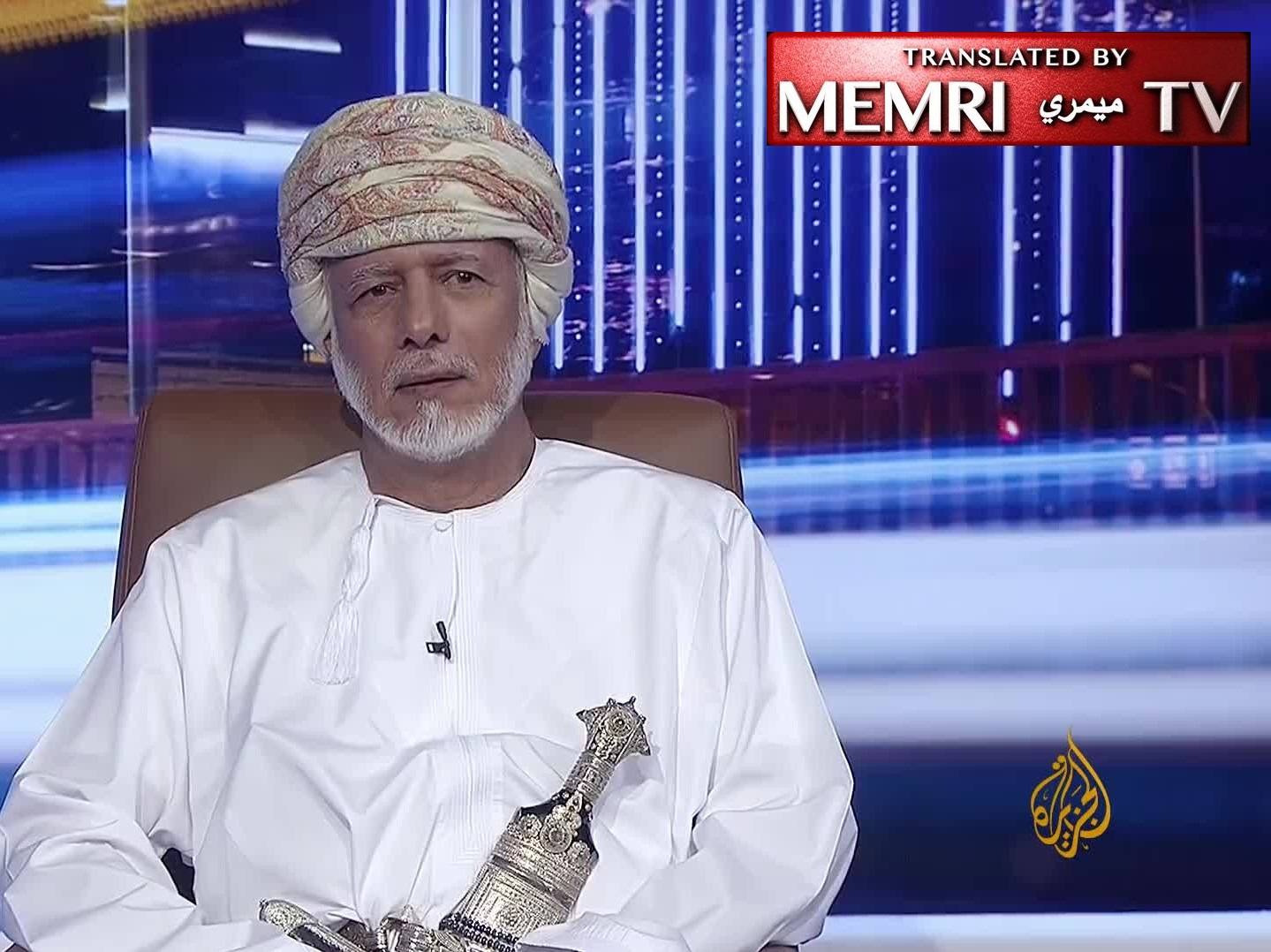 "Omani Foreign Minister Yusuf bin Alawi bin Abdullah Fends Off Al-Jazeera Criticism of Netanyahu-Qaboos Meeting: ""Why? Are We Not Allowed to Do So?"""