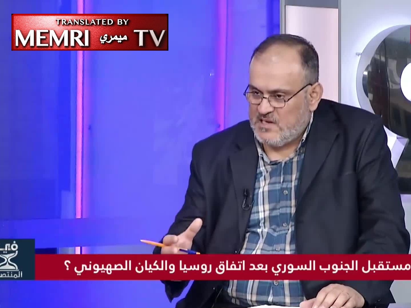 Syrian Opposition Figure Osama Al-Mallouhi: Israel Wants Al-Assad; It's As If They Want Syrian Blood for Their Passover Matzos
