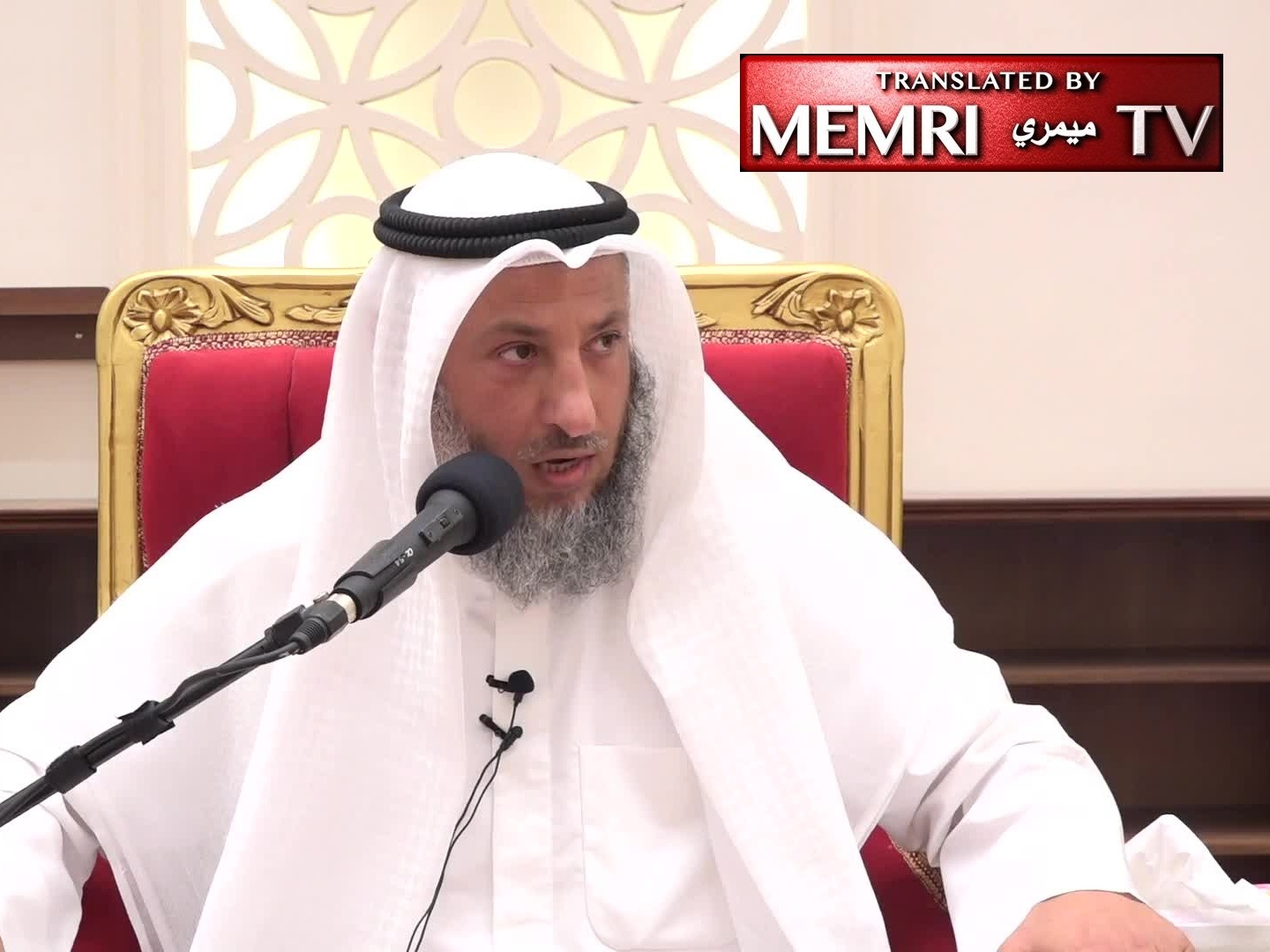 Kuwaiti Cleric Othman Al-Khamis: When a Slave-Girl Gets Married, Her Owner Must Stop Having Sex with Her